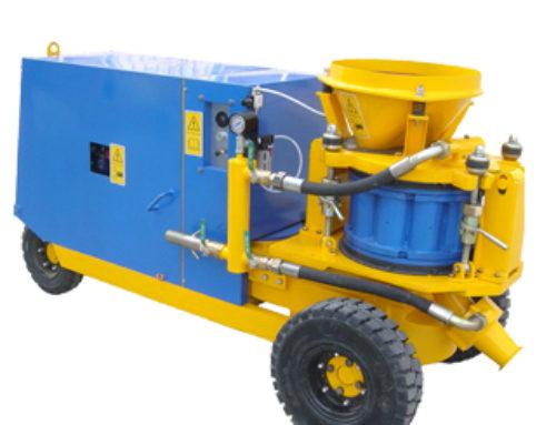 Diesel engine Wet-Dry Mix Shotcrete Machine