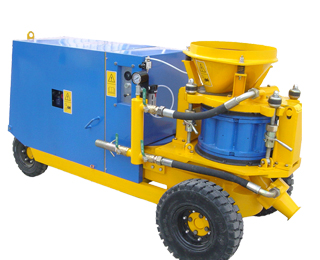 diesel engine shotcrete machine
