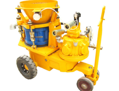 Dry-mix Shotcrete Machine (Air Motor)