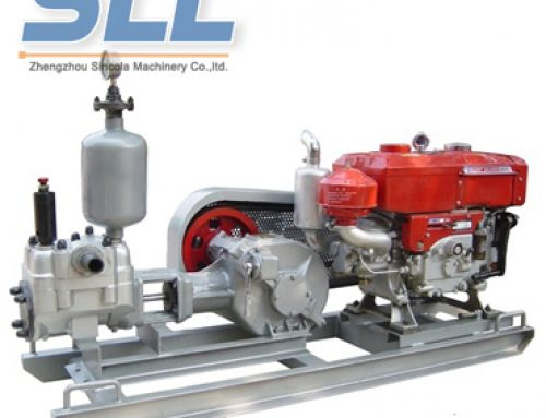 High-pressure hydraulic grouting pump