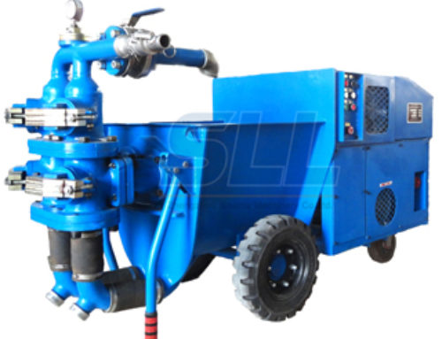 Double Cylinder Mortar Pump