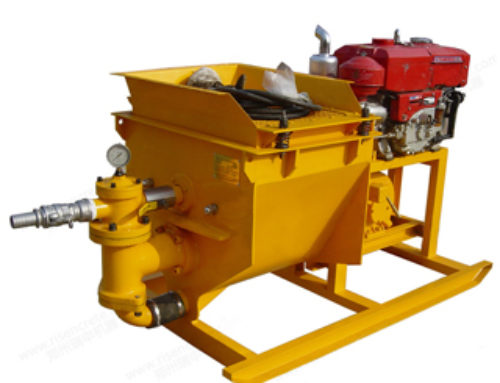 Diesel Engine Single Cylinder Mortar Pump