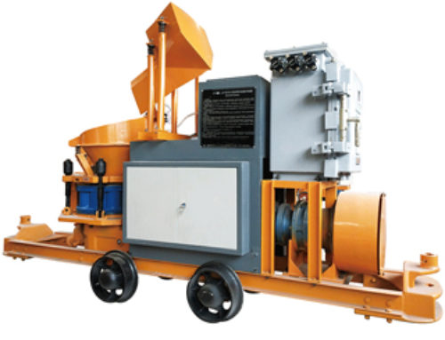 SPS6IH Anti-explosion Concrete mixing shotcrete machine