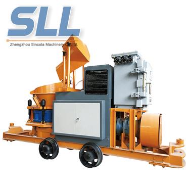 SPS6IH Anti-explosion Concrete mixing shotcrete machine