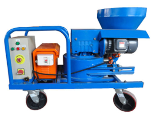 Hose Pump Plaster Machine