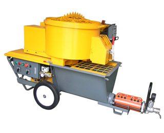 SX55 mixing plastering machine