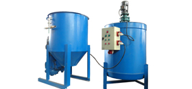 Cement mixer grouting pump
