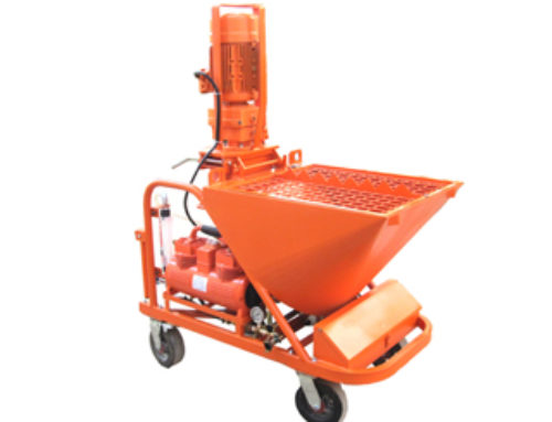 Dry Ready Mix Wall Plaster Machine