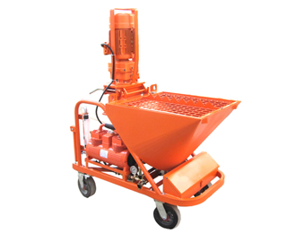 dry mix plaster machine