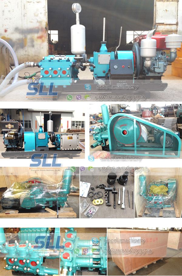 mud cement grouting pump
