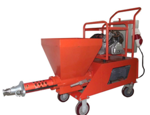 Semi-Automatic Wall Plastering Machine
