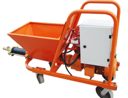 Wet Mix Plaster Machine