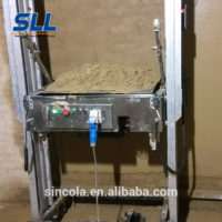 rendering machine for wall