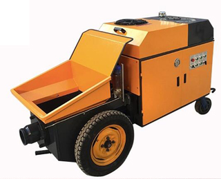 Concrete grouting machine