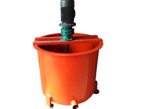 Single layer mixer cement mortar grout mixer