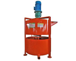 double mortar mixer