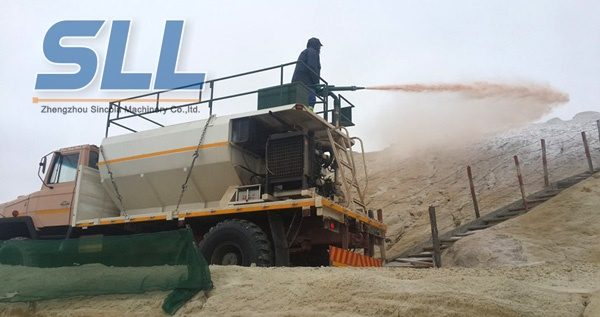 Hydraulic Seed Spraying Machine