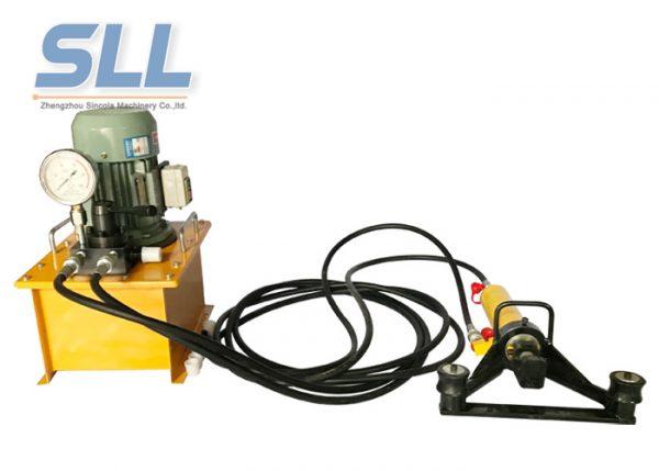 manual hydraulic steel bending machine