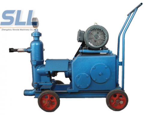 Double cylinder cement mortar grouting pump price