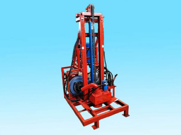 Two-phase drilling machine