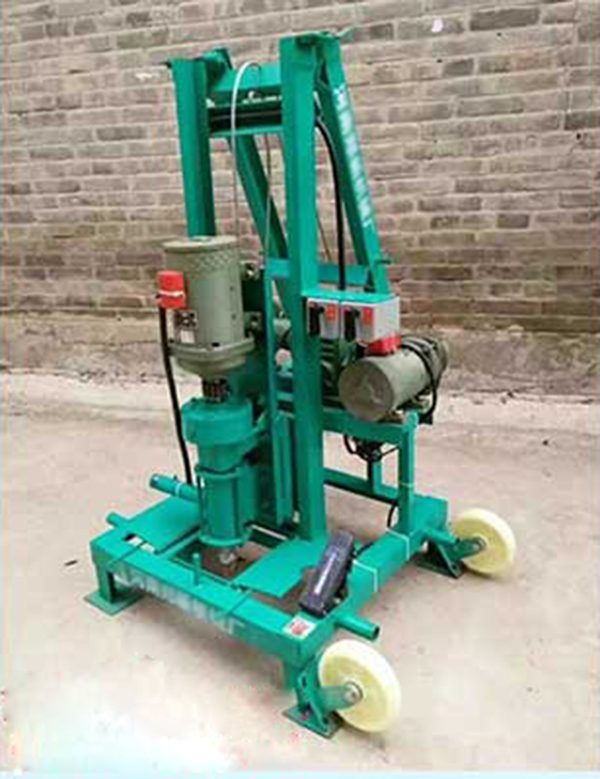 Foldable drilling machine