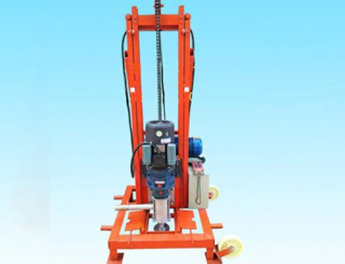 Wireless Remote Well Drilling Machine