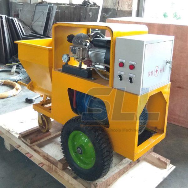 mortar plastering machine