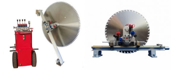 SLL-700TM hydraulic wall sawing machine