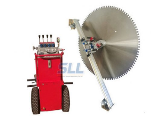 Hydraulic wall Sawing Machine