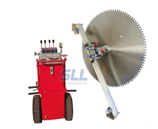 wall concrete sawing machine