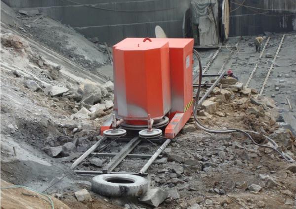 concrete stone cutting machine