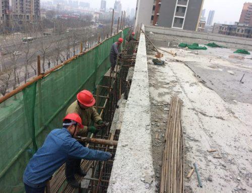 Bridge girder prestressed blanking