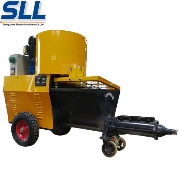 wall spraying machine