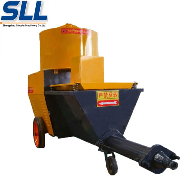 wall cement plastering machine
