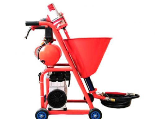 Wall Putty Spraying Machine