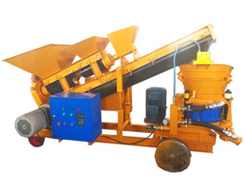 Self Loading Shotcrete Machine