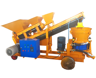 self-loading-shotcrete-machine